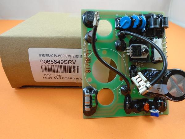 Generac 0065649SRV  Assembly  AVR BOARD APLUS
