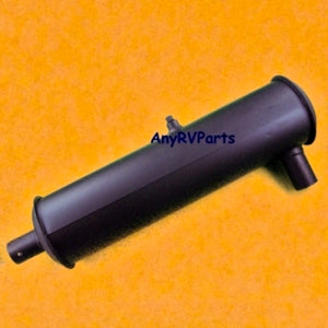 "Generac Muffler Only 052108 Overall Dims: 19-3/4"" length, 4-1/4"" Diameter,  Inlet/Outlet 1-5/16"" (pwy) - AnyRvParts.com"