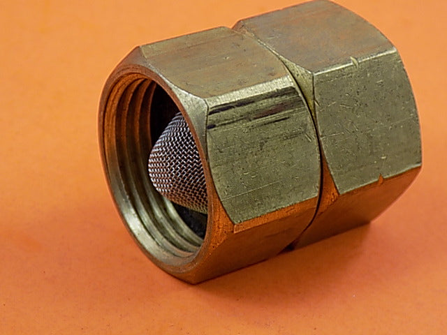 Generac 089983 Brass Hose Water Connector w/ Screen - AnyRvParts.com