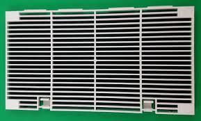 Dometic 3104928001 OEM RV Classic Design Air Conditioner Grille Assembly with Air Filter - Replacement Part - Colonial White