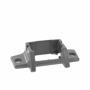 Dometic 3310811009M Satin OEM RV A&E Awning Lower Arm Bracket - Foot Die-Cast SVC Kit w/ Rivets - AnyRvParts.com