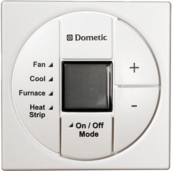 Dometic 3313194000 LCD THERMOSTAT COOL/FURNACE/HEAT STRIP