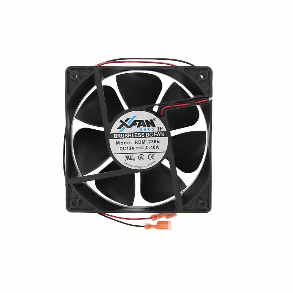 Norcold 628685 OEM RV Refrigerator External Brushless DC Fan - Unit Configured 4.75