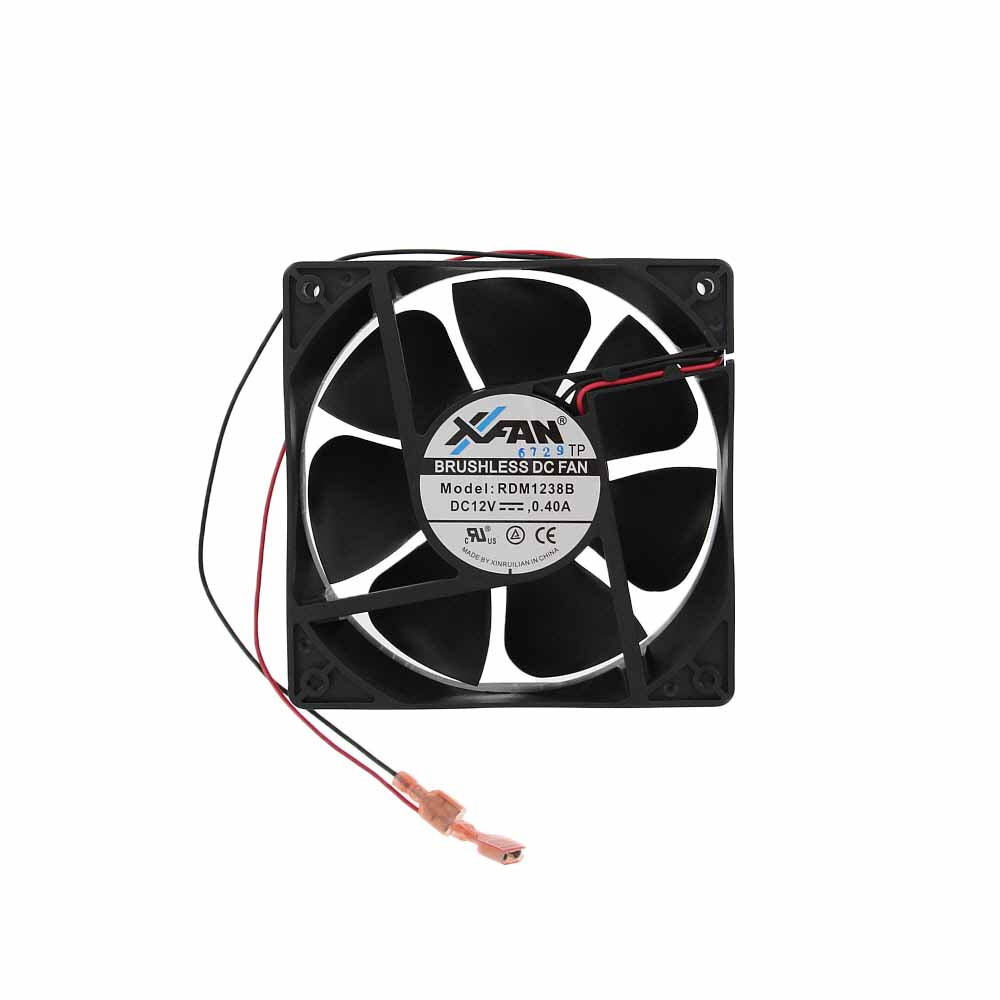Norcold 632206 OEM RV Refrigerator DC Square Cooling Fan - System Configured Replaces 618856 - AnyRvParts.com