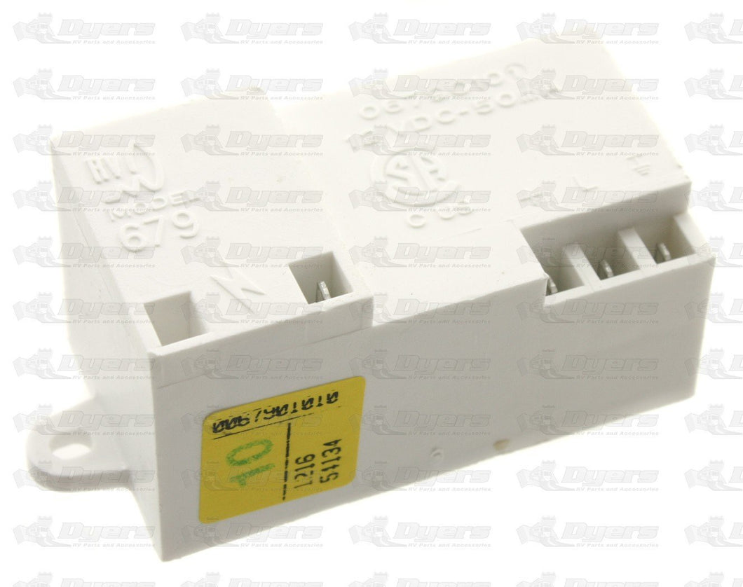 Dometic 2931132019 OEM RV Wireless Refrigerator Reignitor - 3-Pin Replacement Part, White - AnyRvParts.com