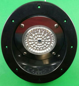 Weekend Warrior L6850-BK-C OEM RV/Trailer/Toy Hauler 5-inch Exterior Oval Flood Light - LED, 12V 10W - Black Housing - AnyRvParts.com