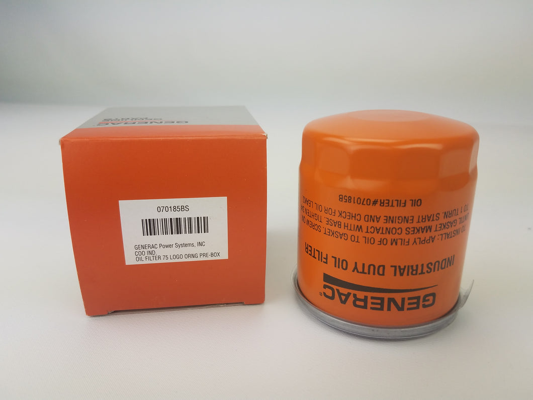Generac 070185BS and ...DS  and ...D are all OEM RV 75mm Guardian Generator Oil Filter Replaces 070185, 70185 - Extends Engine Life, Standard Power Replacement Tool
