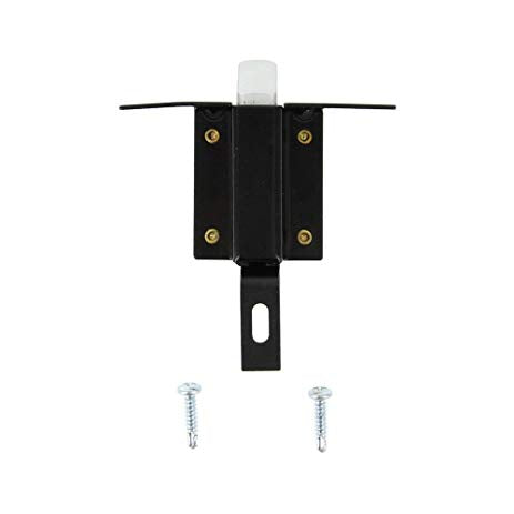 Fleetwood FN001 OEM RV Luggage/Baggage Style Latch Assembly - Aluminum Plunger, Dual Mounting Holes - Replacement Part and Accessory - AnyRvParts.com
