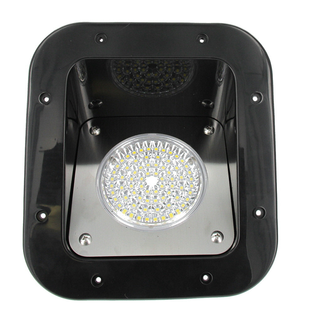 Weekend Warrior L90606-BK-C OEM RV/Trailer/Toy Hauler 5-inch Exterior Flood Light - LED, 12V 10W - Black Housing - AnyRvParts.com
