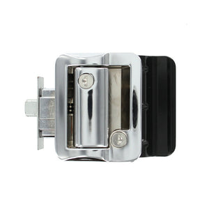 Jammy TDL-01-C OEM RV Entry Door Lock Handle Knob Kit - Includes Deadbolt and Keys, Industrial Grade - Chrome - AnyRvParts.com