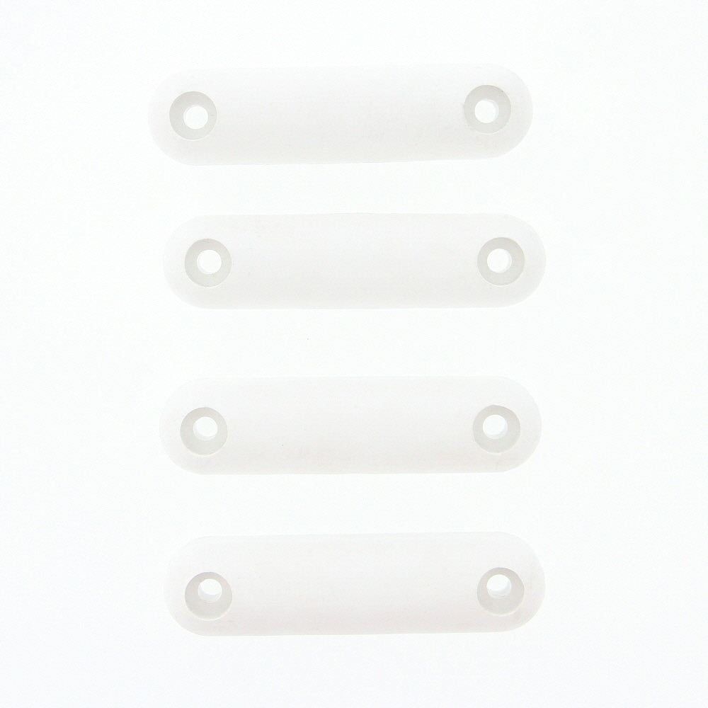 Weekend Warrior 401889 OEM RV Protective Ramp Door Hard Plastic Bumper - White, Pack of 4 - AnyRvParts.com