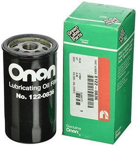 Onan Cummins 122-0836 RV Generator Oil Filter - AnyRvParts.com