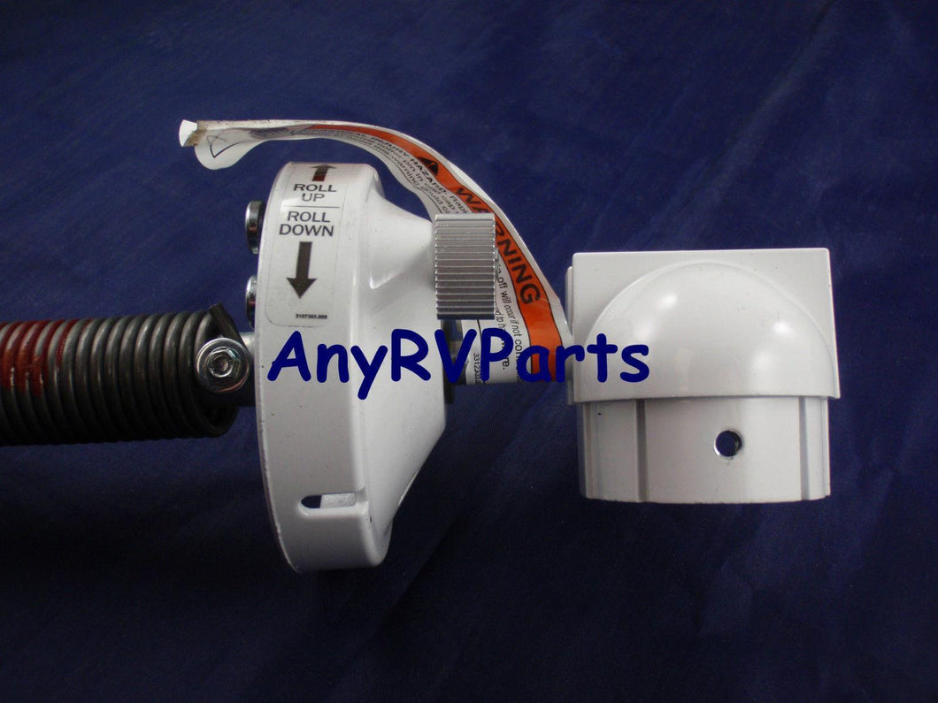 Dometic 3309932006B 8500 Plus Torsion Assembly Standard Right Hand White - AnyRvParts.com