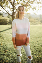 Load image into Gallery viewer, Rust Ombre Sweater