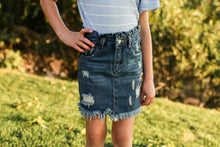 Load image into Gallery viewer, High Waisted Jean skirt