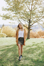 Load image into Gallery viewer, Army Lace up Skirt
