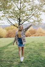 Load image into Gallery viewer, Leopard Oversized Cardigan
