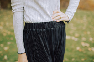 High Waisted Gaucho Pants