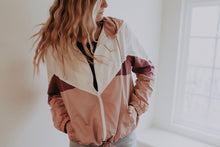 Load image into Gallery viewer, Color Block Windbreaker
