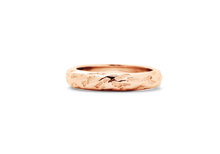 wedding band man rose gold dunes adventurer