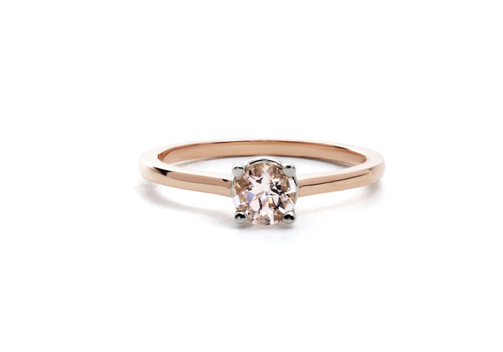 You love me, I love you (morganite)