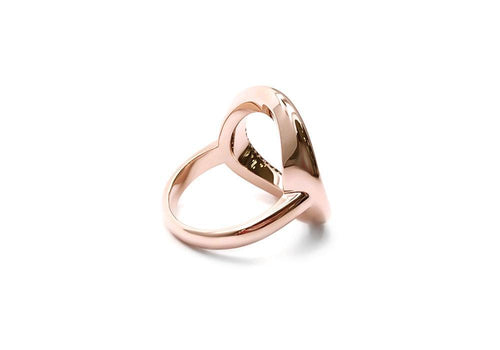 ring 56 spinels rose gold back good karma