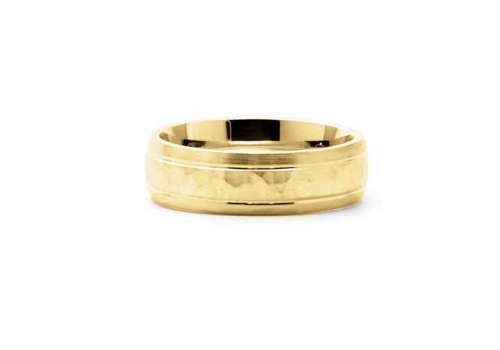 yellow gold comfort ring together that's all
