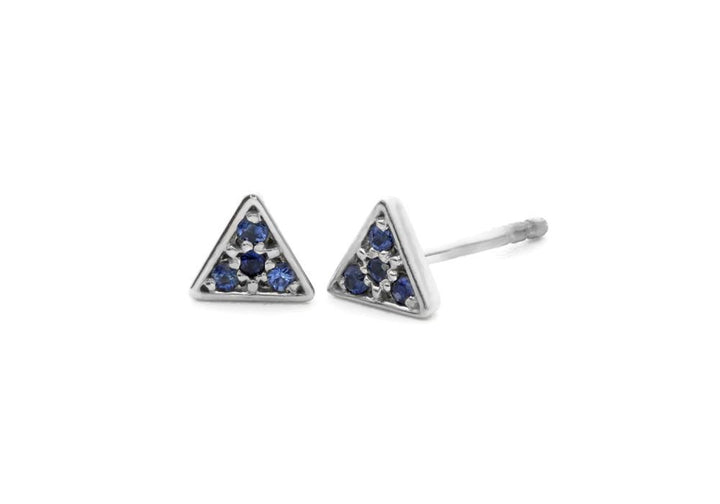 Triangle pavé