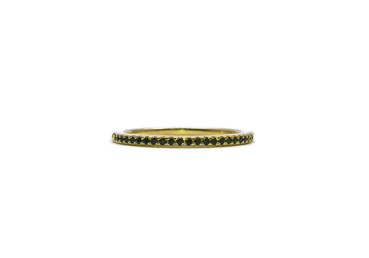 spinel ring yellow gold beautiful to crunch