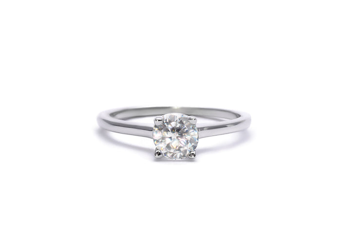 You love me, I love you. (moissanite)