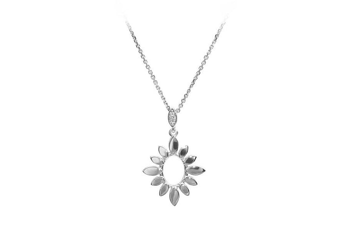 necklace diamond necklace laboratory diamond sun sterling silver summer sky