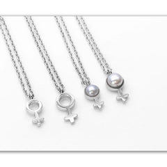 sterling silver and pearl charms for women and girls