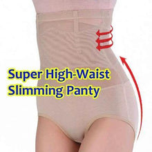 Load image into Gallery viewer, High Waist Body Shaper Panty