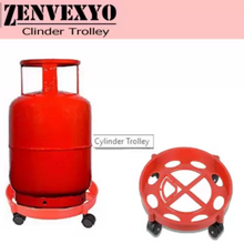 Load image into Gallery viewer, GAS CYLINDER TROLLEY