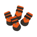 Ultra Paws Rugged Dog Boots Orange