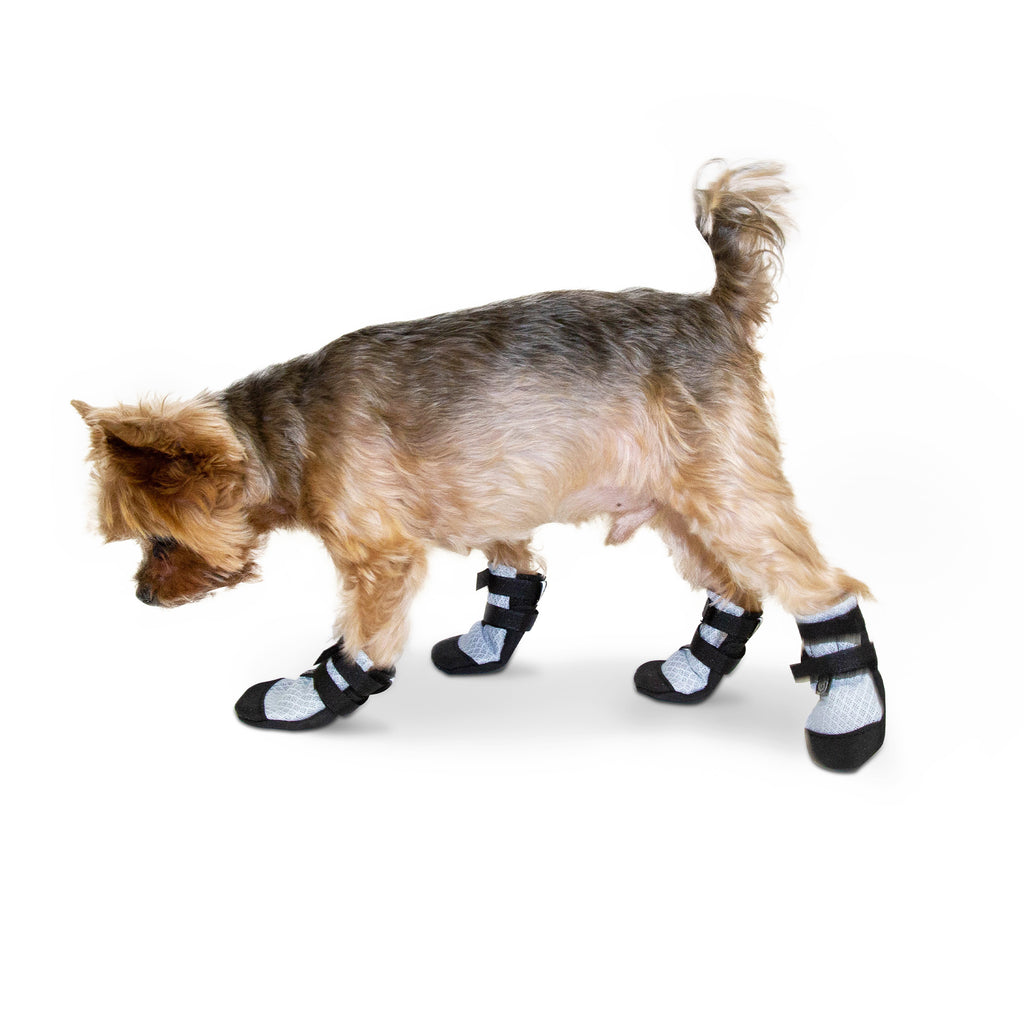 Ultra Cool Dog Boots Petite Silver