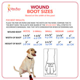 Ultra Paws Wound Boot & Wrap Sizing Chart
