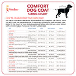 Ultra Paws Comfort Coat - Ultra Reflective Sizing Chart