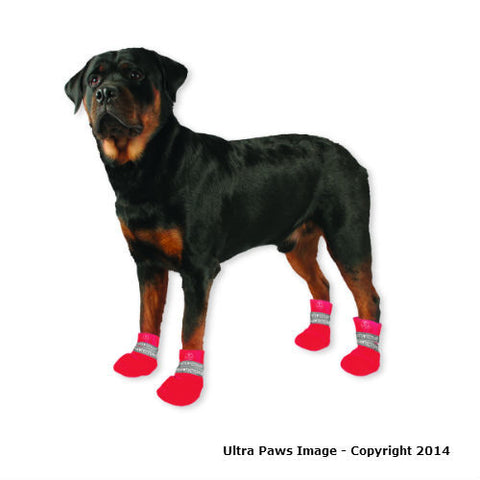 Waterproof Dog Boots -Red or Pink  - 50% Off