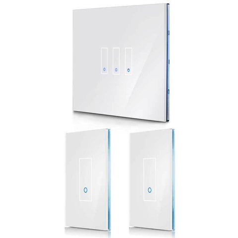 3-Pack - Save 5% (Choose Size & Color) IottySmartHome (1) U3 + (2) U1 White