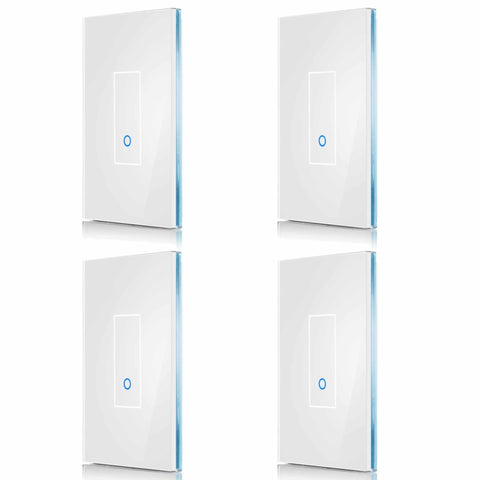 4-Pack - Save 10% (Choose Size & Color) IottySmartHome (4) U1 White