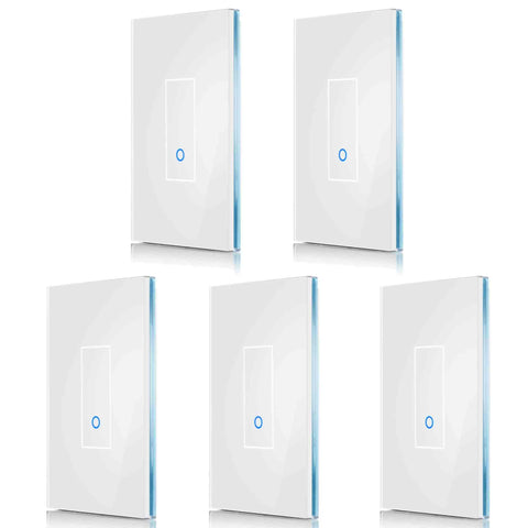 5-Pack - Save 15% (Choose Size & Color) IottySmartHome (5) U1 White