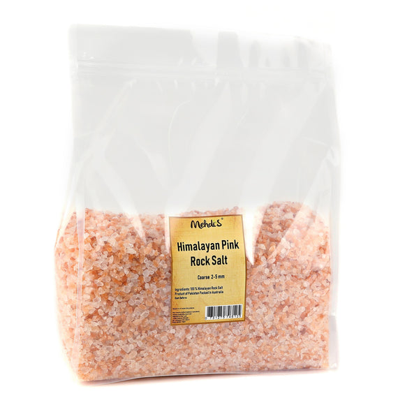 Himalayan Pink Salt - Coarse (2-5 mm)