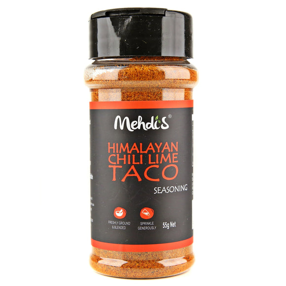 HIMALAYAN CHILLI LIME TACO SEASONING 55 g - seasonings