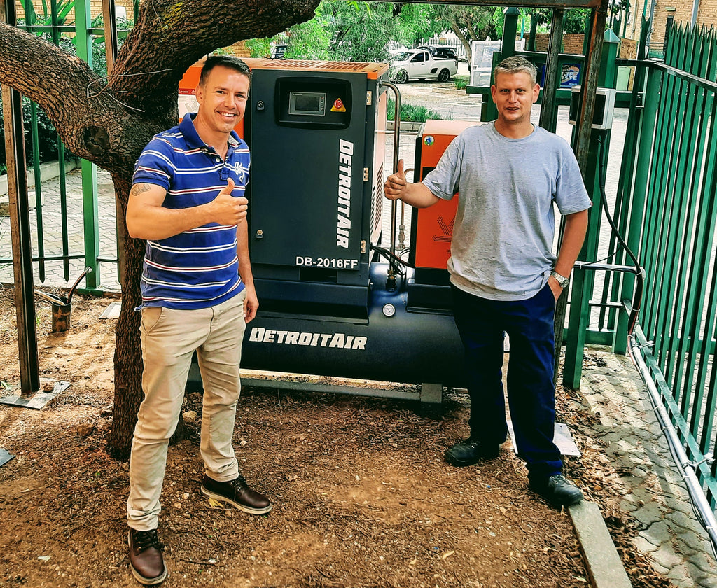 Poynting Group Installs Specialised Detroit 16Bar Screw Compressor