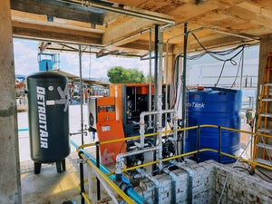 SA Dorper (Pty) Ltd Installs Detroit 15Kw Full Feature Screw Compressor with Dryer and Vessel