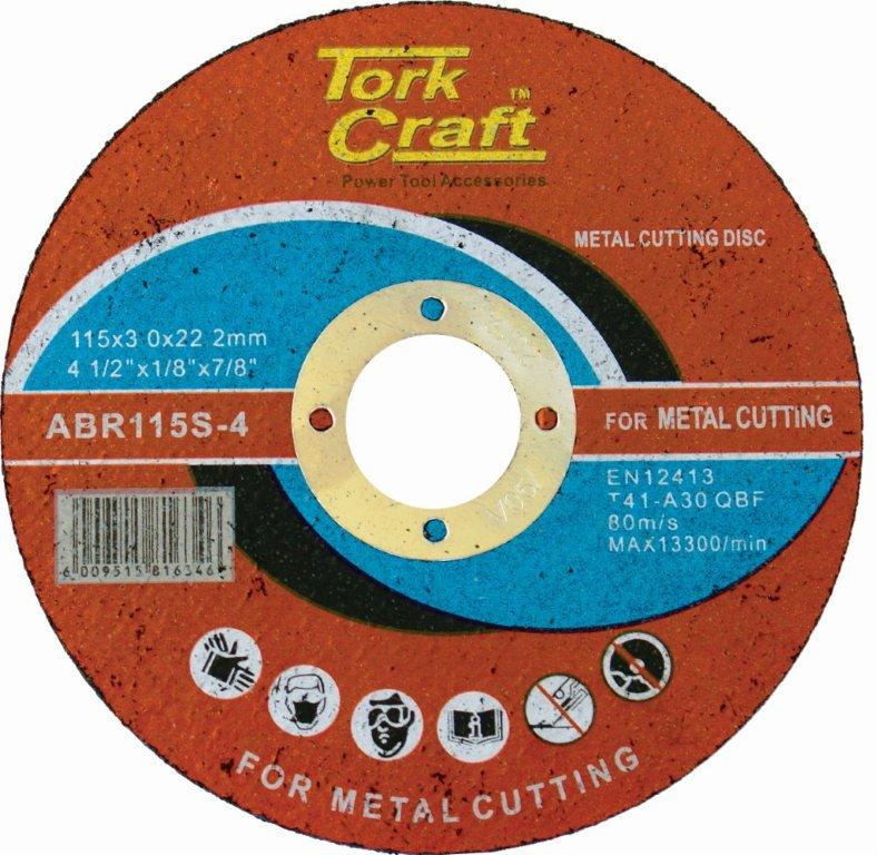 Cutting disc for cutting steel 115mm