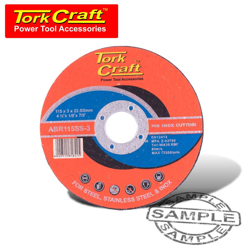 Cutting disc for stainless teel 115mm