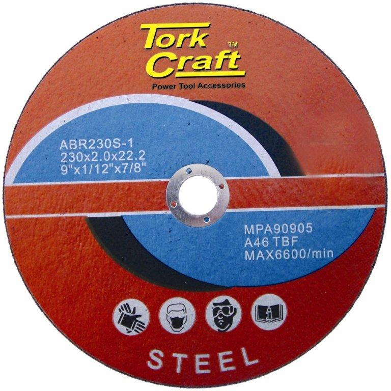 Cutting disc for steel 230mm