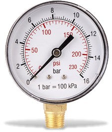 Pressure gauge from GAV